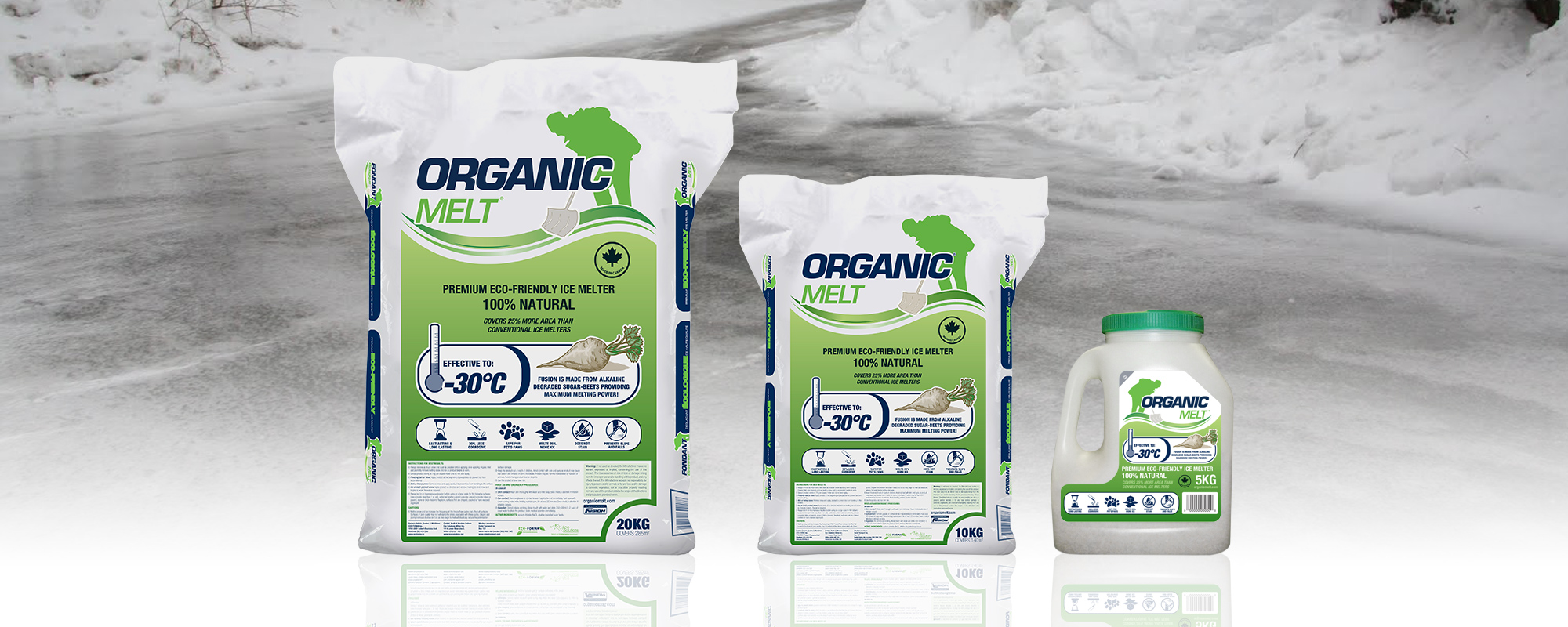 Organic Melt Natural Premium Ice Melt